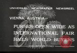 Image of exhibition Vienna Austria, 1932, second 2 stock footage video 65675033274