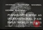 Image of exhibition Vienna Austria, 1932, second 6 stock footage video 65675033274