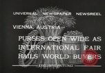 Image of exhibition Vienna Austria, 1932, second 9 stock footage video 65675033274