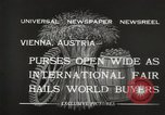 Image of exhibition Vienna Austria, 1932, second 10 stock footage video 65675033274