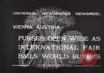 Image of exhibition Vienna Austria, 1932, second 11 stock footage video 65675033274