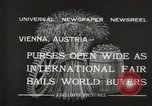 Image of exhibition Vienna Austria, 1932, second 12 stock footage video 65675033274