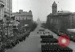 Image of parade Washington DC USA, 1933, second 8 stock footage video 65675033287