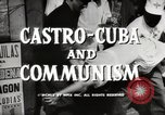Image of Fidel Castro Cuba, 1959, second 6 stock footage video 65675033300
