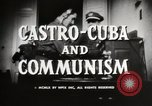 Image of Fidel Castro Cuba, 1959, second 8 stock footage video 65675033300