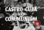 Image of Fidel Castro Cuba, 1959, second 9 stock footage video 65675033300