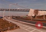 Image of Verrazano Bridge Brooklyn New York City USA, 1971, second 2 stock footage video 65675033334