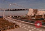 Image of Verrazano Bridge Brooklyn New York City USA, 1971, second 5 stock footage video 65675033334