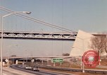Image of Verrazano Bridge Brooklyn New York City USA, 1965, second 10 stock footage video 65675033336