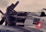 Image of P-51 plane Philippines, 1945, second 4 stock footage video 65675033349