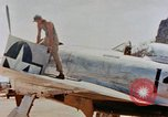 Image of P-47N Thunderbolts of the 464th Fighter Squadron Ryukyu Islands, 1945, second 12 stock footage video 65675033358