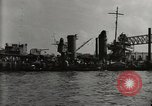 Image of Wrecked ships Pearl Harbor Hawaii USA, 1942, second 11 stock footage video 65675033415
