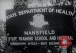 Image of Mentally disabled children Mansfield Connecticut USA, 1969, second 6 stock footage video 65675033420