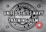 Image of Navy Training United States USA, 1942, second 2 stock footage video 65675033459