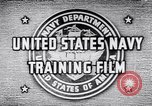 Image of Navy Training United States USA, 1942, second 4 stock footage video 65675033459