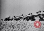 Image of Italian anti aircraft artillery Libya, 1942, second 1 stock footage video 65675033491