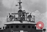 Image of Plan Acrobat with ships at sea Atlantic Ocean, 1942, second 1 stock footage video 65675033506