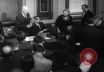 Image of President Eisenhower speaks regarding Gary Powers and International In Washington DC White House USA, 1960, second 7 stock footage video 65675033517