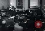 Image of President Eisenhower speaks regarding Gary Powers and International In Washington DC White House USA, 1960, second 10 stock footage video 65675033517