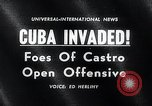 Image of Cuban Invasion Cuba, 1961, second 2 stock footage video 65675033521