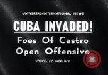 Image of Cuban Invasion Cuba, 1961, second 3 stock footage video 65675033521