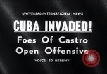 Image of Cuban Invasion Cuba, 1961, second 4 stock footage video 65675033521