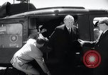 Image of West German Chancellor Konrad Adenauer Stonewall Texas USA, 1964, second 9 stock footage video 65675033524
