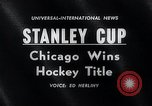 Image of Stanley Cup Detroit Michigan Olympia stadium USA, 1961, second 3 stock footage video 65675033525