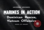 Image of United States Marine Corps Santo Domingo Dominican Republic, 1965, second 5 stock footage video 65675033534