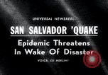 Image of Earthquake San Salvador El Salvador, 1965, second 1 stock footage video 65675033539