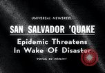 Image of Earthquake San Salvador El Salvador, 1965, second 2 stock footage video 65675033539