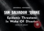 Image of Earthquake San Salvador El Salvador, 1965, second 3 stock footage video 65675033539