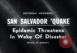 Image of Earthquake San Salvador El Salvador, 1965, second 4 stock footage video 65675033539