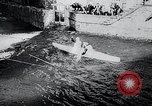 Image of Kayak racing Germany, 1965, second 7 stock footage video 65675033542