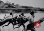 Image of Surfing Contest Australia, 1943, second 8 stock footage video 65675033553