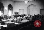 Image of Allied War Council Washington DC White House USA, 1943, second 8 stock footage video 65675033555