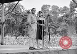 Image of Bob Hope Troupe entertaining U.S. troops on U.S.O. tour Bougainville Solomon Islands, 1944, second 5 stock footage video 65675033573