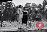 Image of Bob Hope Troupe entertaining U.S. troops on U.S.O. tour Bougainville Solomon Islands, 1944, second 6 stock footage video 65675033573