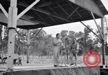 Image of Bob Hope and Jerry Colonna entertain U.S. troops  Bougainville Solomon Islands, 1944, second 4 stock footage video 65675033574