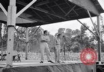 Image of Bob Hope and Jerry Colonna entertain U.S. troops  Bougainville Solomon Islands, 1944, second 9 stock footage video 65675033574
