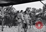 Image of Bob Hope Troupe performing on U.S.O. tour in World War II Bougainville Solomon Islands, 1944, second 11 stock footage video 65675033576