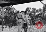 Image of Bob Hope Troupe performing on U.S.O. tour in World War II Bougainville Solomon Islands, 1944, second 12 stock footage video 65675033576