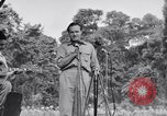 Image of U.S.O. Bob Hope Troupe entertains U.S. troops in World War II Bougainville Solomon Islands, 1944, second 2 stock footage video 65675033577