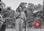 Image of U.S.O. Bob Hope Troupe entertains U.S. troops in World War II Bougainville Solomon Islands, 1944, second 3 stock footage video 65675033577