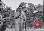 Image of U.S.O. Bob Hope Troupe entertains U.S. troops in World War II Bougainville Solomon Islands, 1944, second 4 stock footage video 65675033577