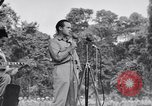 Image of U.S.O. Bob Hope Troupe entertains U.S. troops in World War II Bougainville Solomon Islands, 1944, second 5 stock footage video 65675033577