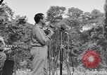 Image of U.S.O. Bob Hope Troupe entertains U.S. troops in World War II Bougainville Solomon Islands, 1944, second 9 stock footage video 65675033577