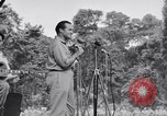 Image of U.S.O. Bob Hope Troupe entertains U.S. troops in World War II Bougainville Solomon Islands, 1944, second 10 stock footage video 65675033577