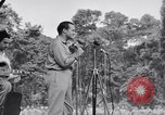 Image of U.S.O. Bob Hope Troupe entertains U.S. troops in World War II Bougainville Solomon Islands, 1944, second 11 stock footage video 65675033577