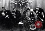 Image of Winston Churchill Iron Curtain speech Fulton Missouri USA, 1946, second 1 stock footage video 65675033582